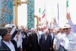 افتتاح رسمی فازهای پارس جنوبی به دست رئیس جمهور