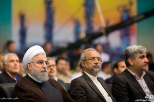 افتتاح ۵ فاز پارس جنوبی توسط رئیس جمهور