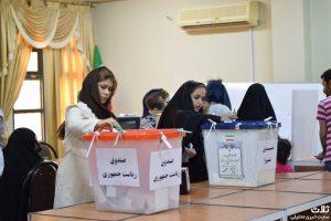 انتخابات شورای شهر و ریاست جمهوری در کنگان ۱