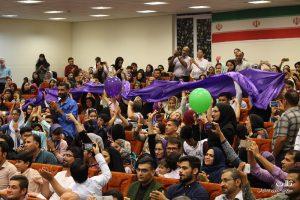 جشن هواداران روحانی در بندر کنگان