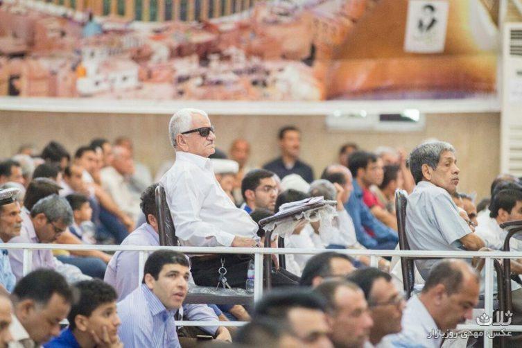 نماز عید فطر در بندر کنگان