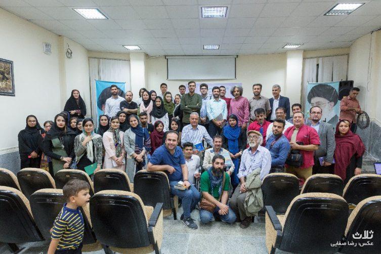نشست ادبی هنرمندان کنگان و بوشهر