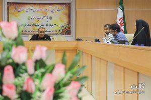 نشست خبری شهردار و اعضای شورای شهر کنگان