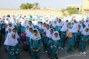 تصاویر بازگشایی مدارس در روز اول مهر
