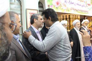 جشن آغاز هفته وحدت در مسجد خلفای راشدین بندر کنگان