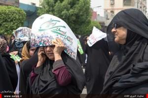 راهپیمایی قدس کنگان93