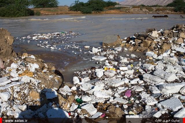 سیلاب زباله