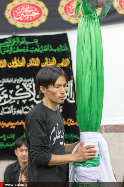 حسینیه افغانهای مقیم کنگان و بنک