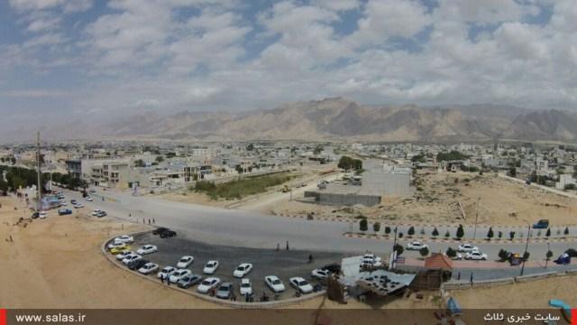 مسافران نوروزی ۹۴ در شهرستان کنگان