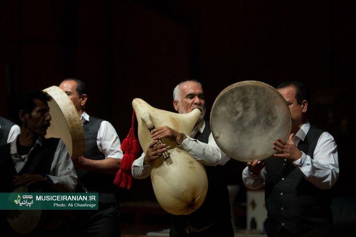 حیدر سلمانی سرپرست گروه موسیقی ثلاث از کنگان
